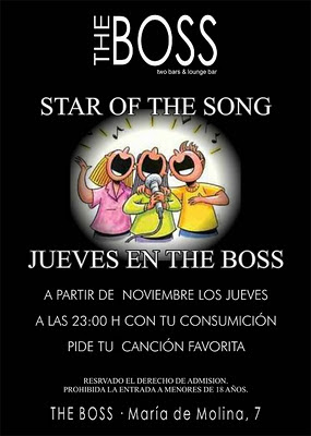 karaoke en Valladolid Bar de copas The Boss