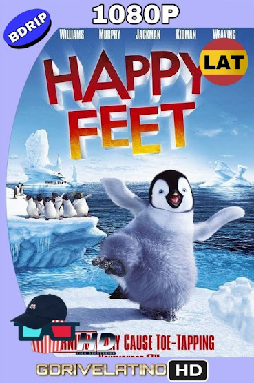 Happy feet (2006) BDRip 1080p Latino-Ingles mkv