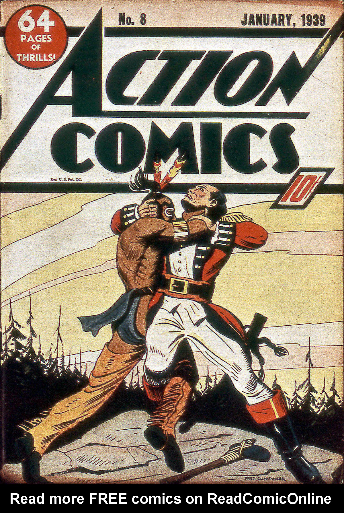Action Comics (1938) 8 Page 1