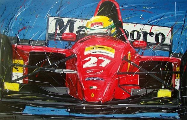Senna, ex-piloto de Formula 1 - by static.derapate.it