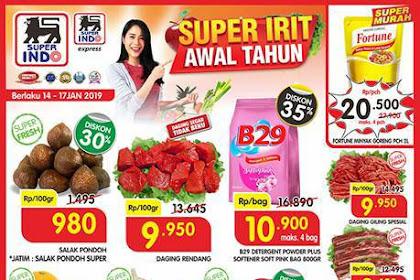Katalog Promo Superindo Weekday Terbaru 14 - 17 Januari 2019