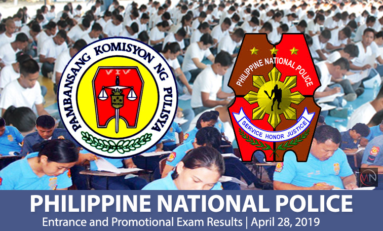 NAPOLCOM Exam Results for April 2019   Passers List #Entrance