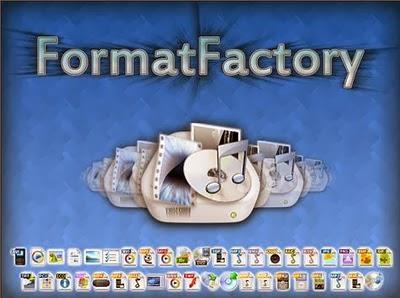 تحميل برنامج فورمات فاكتوري programs format factory free download