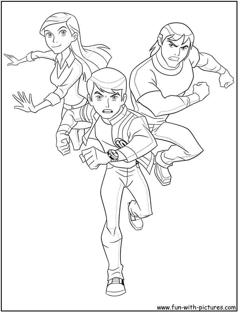 ben 1000 coloring pages - photo#23