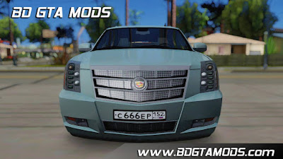 car mod cadillac escalade platinum for Gta San Andreas , GTA SA , Gta San
