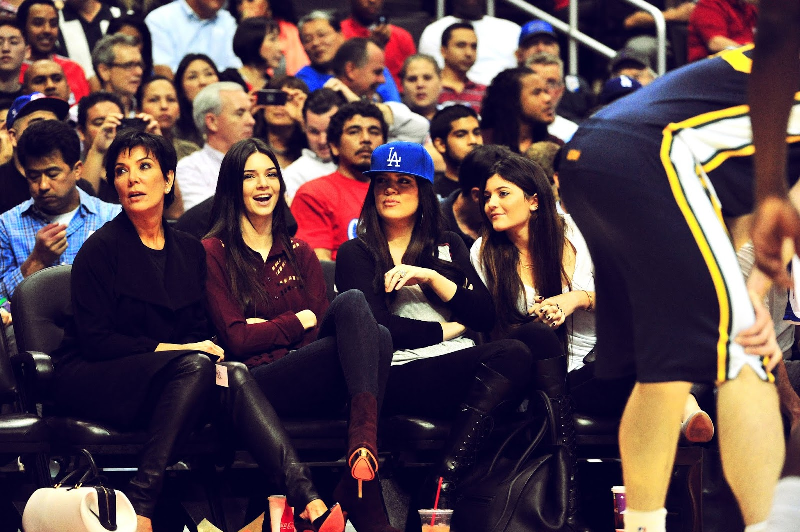 03 - Watching The Los Angeles Clippers Game on October 17, 2012