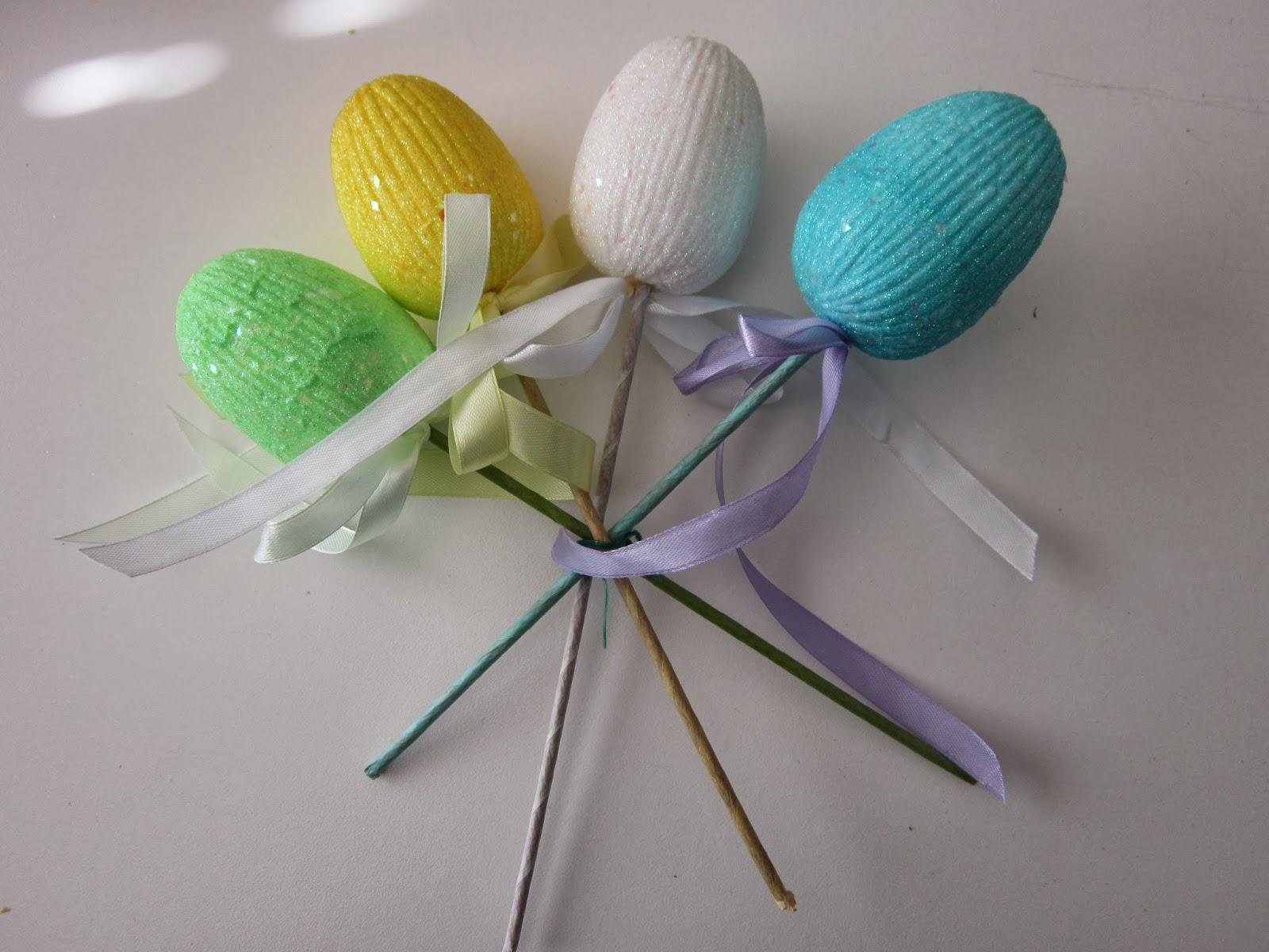 Spontaneously Creative: Mesh Easter Wreath