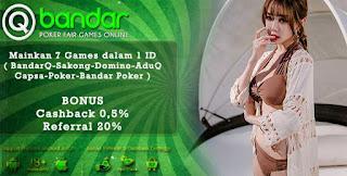 Panduan Cara Bermain Judi Bandar66 Online QBandars - www.Sakong2018.com