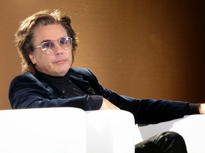 Midem 2014 : Jean-Michel Jarre (Cisac) / photo S. Mazars