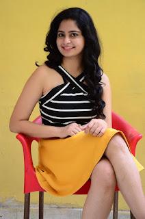 Poorvi Takkara at Only Nenu Movie Press Meet