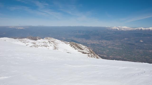 L'Aquila vista da monte Ocre