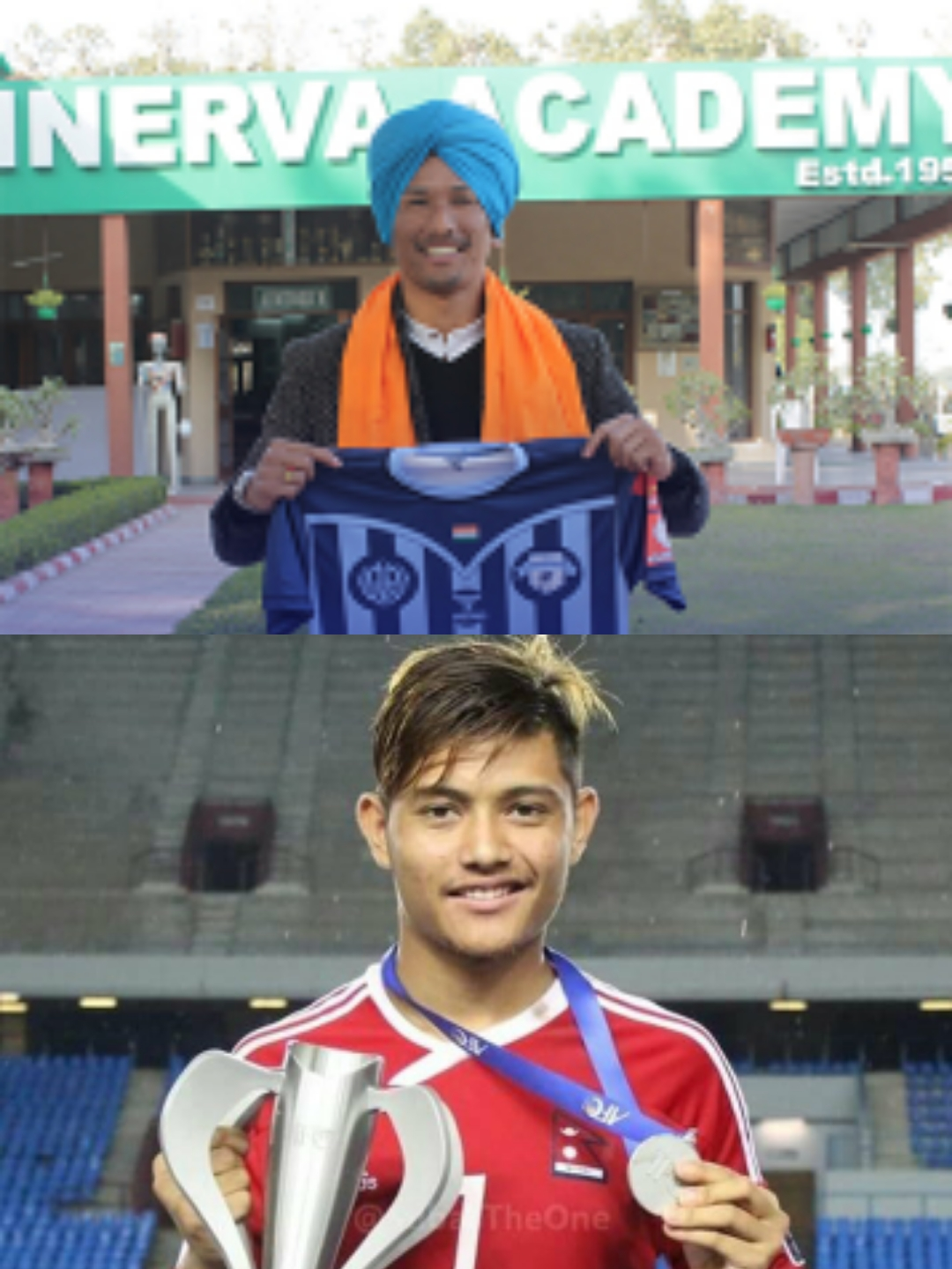 Kiran Chemjong and Bimal Gharti Magar to play in Hero I-league