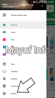 Cara Mengatasi/Menghentikan Download Update Aplikasi Otomatis Di Google Play Store Android
