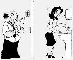 banheiro do trabalho