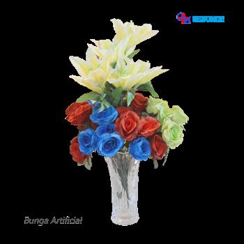 Bunga hiasan imitasi grosir