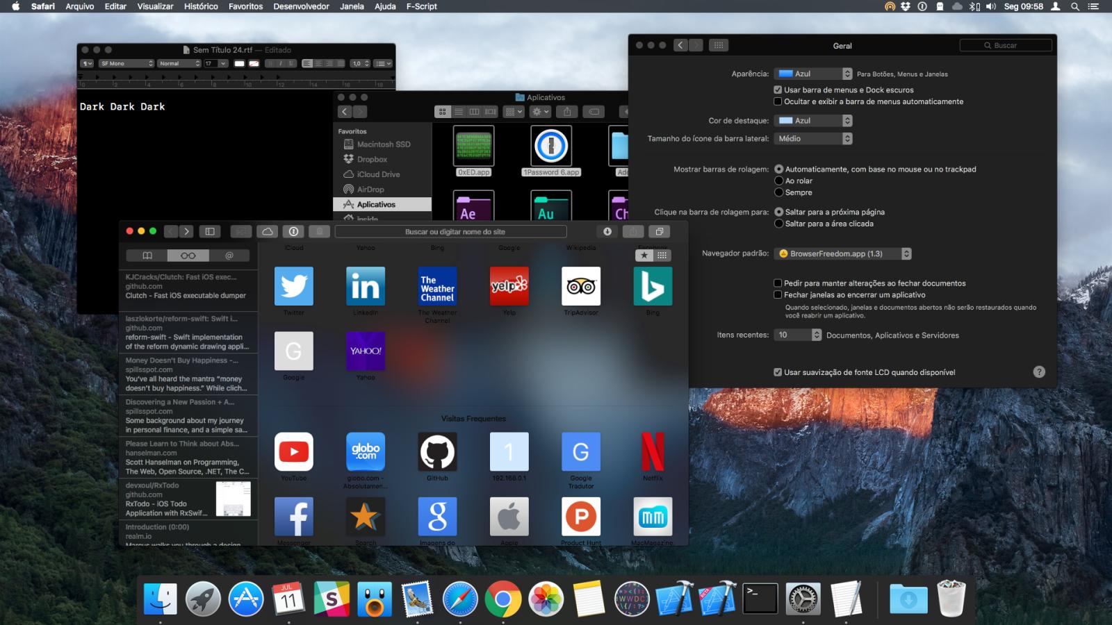 Dark Mode Mac Os High Sierra