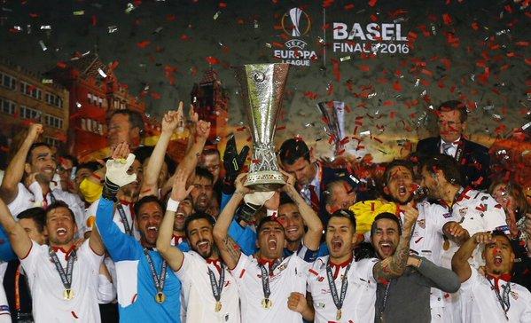 Histórico Sevilla ¡¡¡ Quinta UEFA Europa League !!!