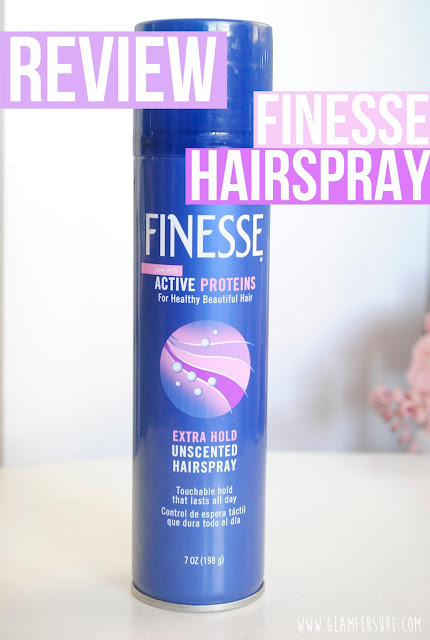 Glam Fer Sure~ ♥: Review | Finesse Active Proteins Extra Hold Hairspray