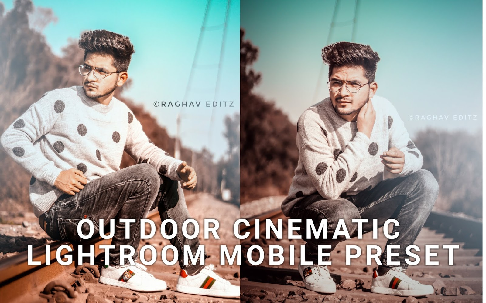 Cinematic lightroom preset, lightroom mobile preset, lightroom preset