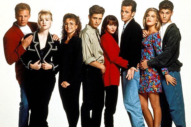 ... da série Beverly Hills 90210