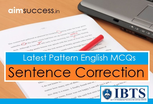 Latest Pattern English MCQs