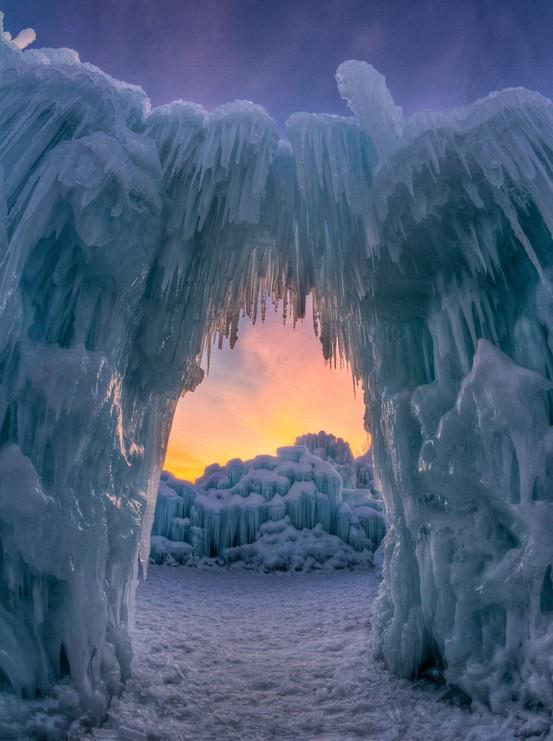 Ice Castle at Silverthorne, Colorado 8