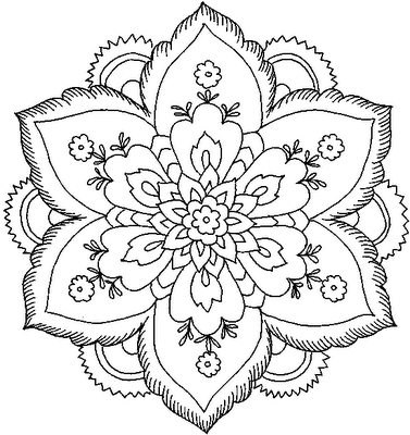 coolest coloring pages ever | Cool Flower Coloring Pages - Flower Coloring Page