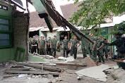 Kunker Ke Lombok, Kasad Alokasikan 5 Milyar Rehab Bangunan Rusak Milik TNI AD