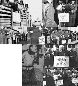 Execuções na China. Muitos mártires católicos passaram por momentos como estes