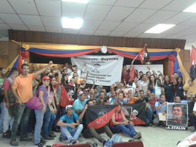 Asamblea Estadal del Movimiento Gayones en Carabobo, en conmemoración de los 100 años de la Revolución Bolchevique