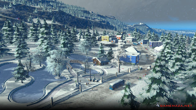 Cities Skylines Snowfall Gameplay Screenshot 1