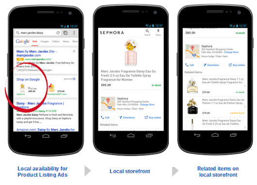 Google Shopping goes local