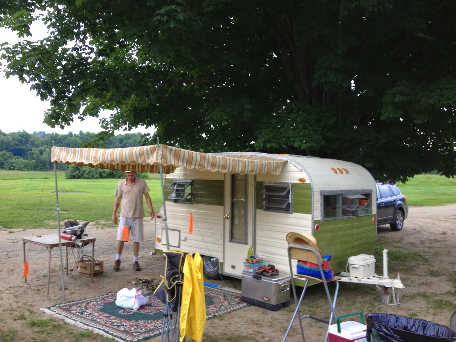 Vintage Awnings Accentuate Your Trailer With A Vintage