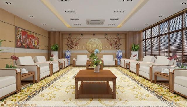 Thiết kế nội thất phòng khánh tiết cho các cơ quan ngoại giao - H1