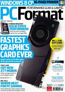 PC FORMAT MAGAZINE INGGRIS EDITION