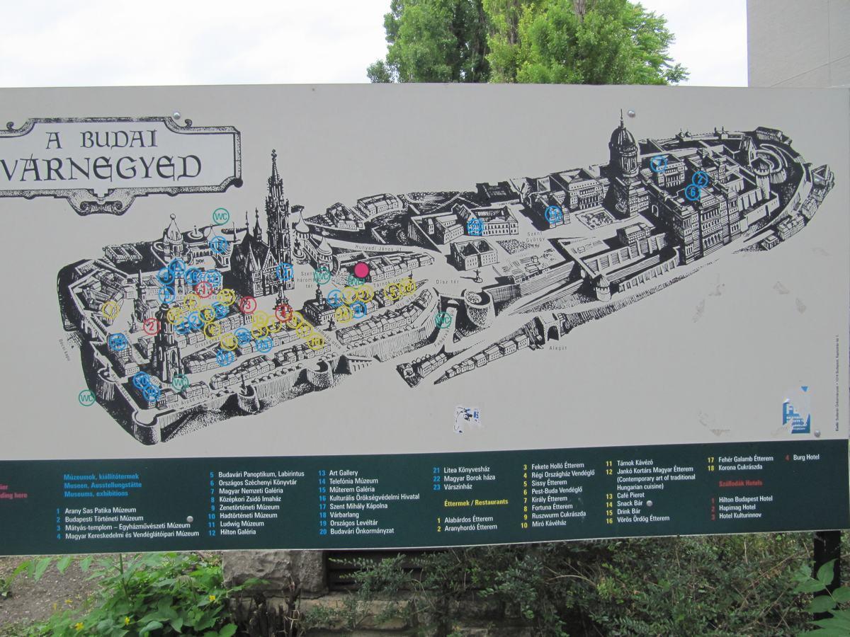 mapa de Buda