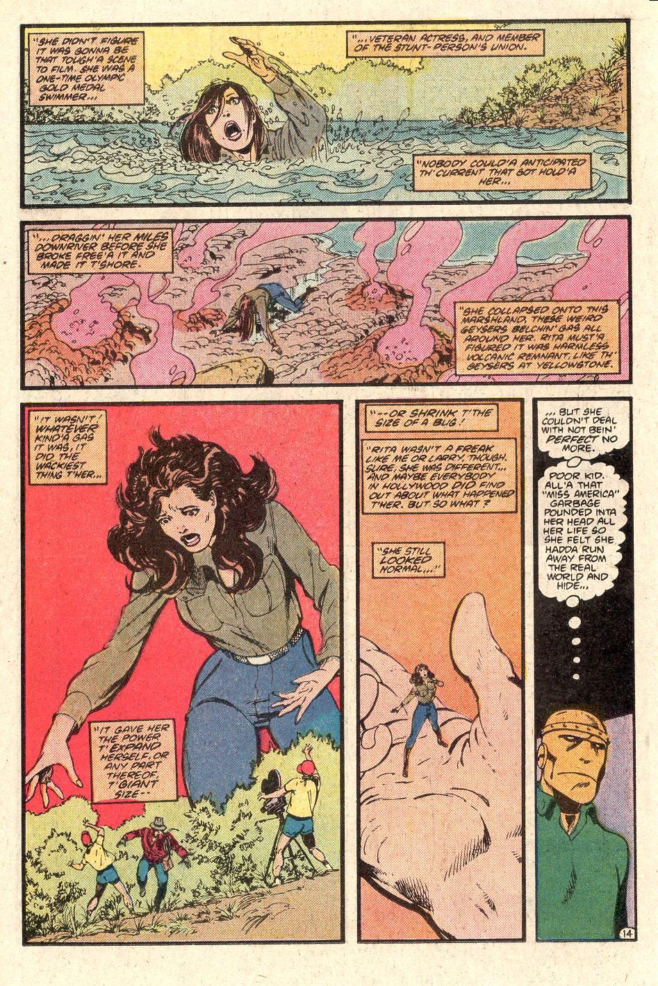 Read online Secret Origins (1986) comic -  Issue # _Annual 1 - 15