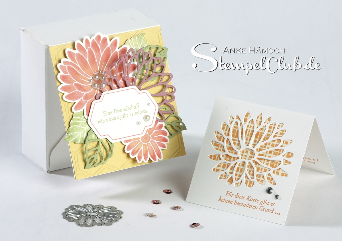 Verpackung mit dem Punchboard mit dem Stampin' Up! Produktpaket Besondere Grüsse