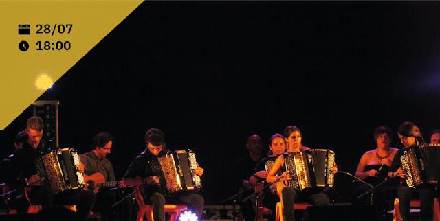 Folequestra dá concerto na Fortaleza de Sagres