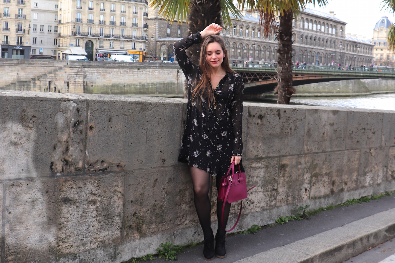 robe volantée H&M