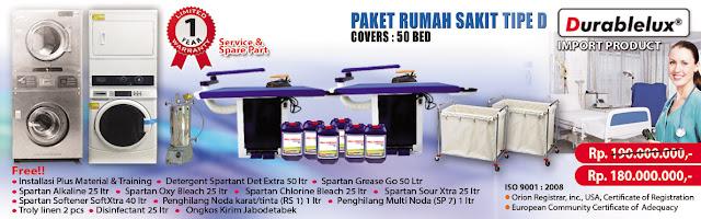 PROMO-PAKET-RS-D3 Menyediakan Kredit Usaha Laundry Hotel dan Laundry Rumah Sakit