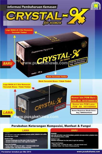 bpom baru crystal x nasa 2015