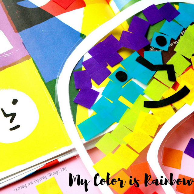 My Color is Rainbow Craft and Review