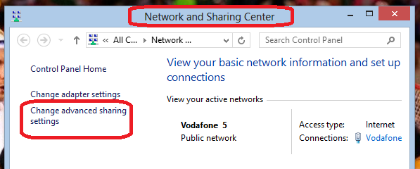 How To Share Files Via LAN Without Internet Connection On Windows 7/8