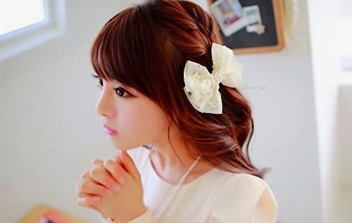 Bonito y cómodo peinados kawaii Colección de tendencias de color de pelo - PEINADOS KAWAII