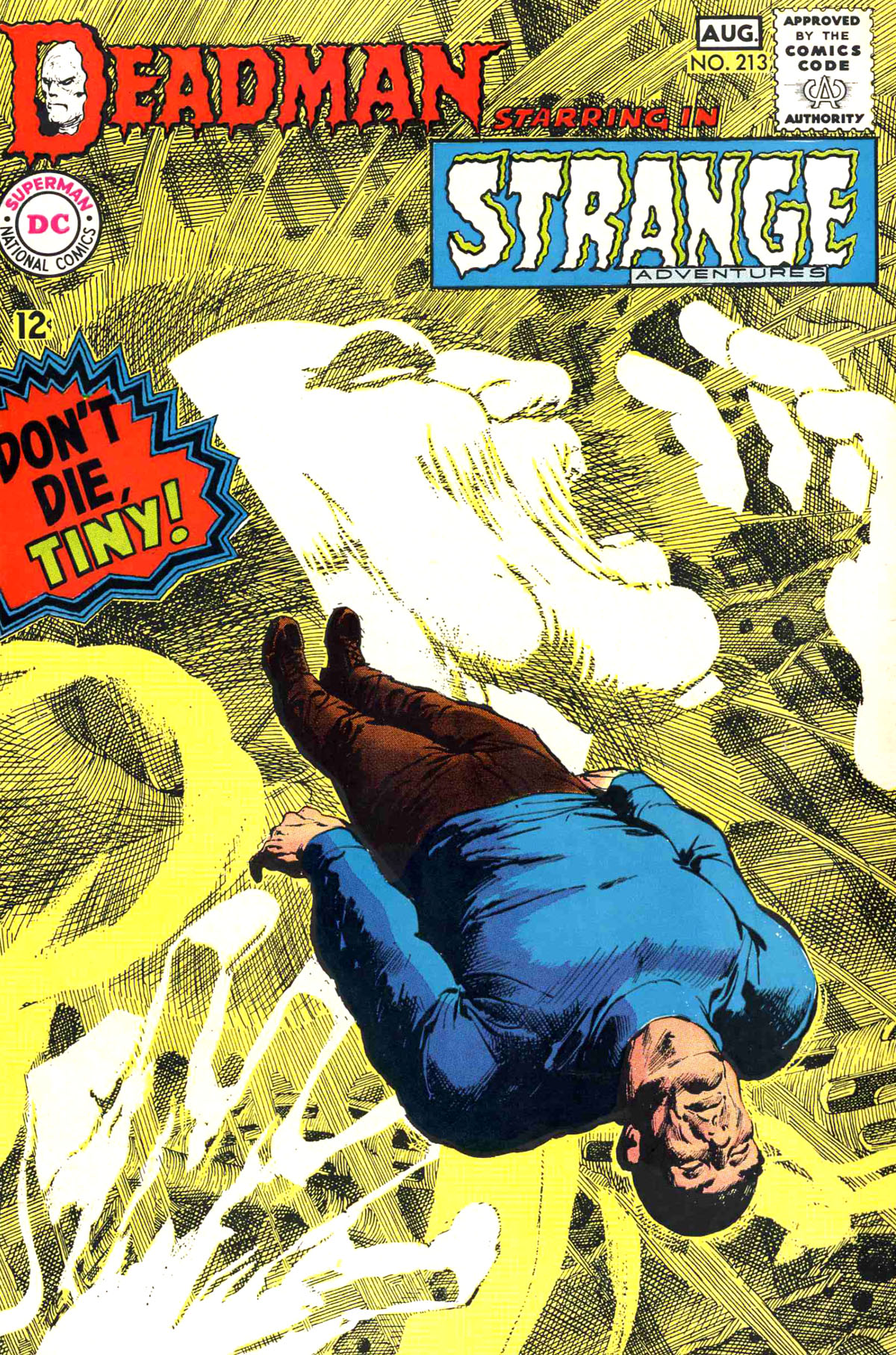 Strange Adventures (1950) issue 213 - Page 1