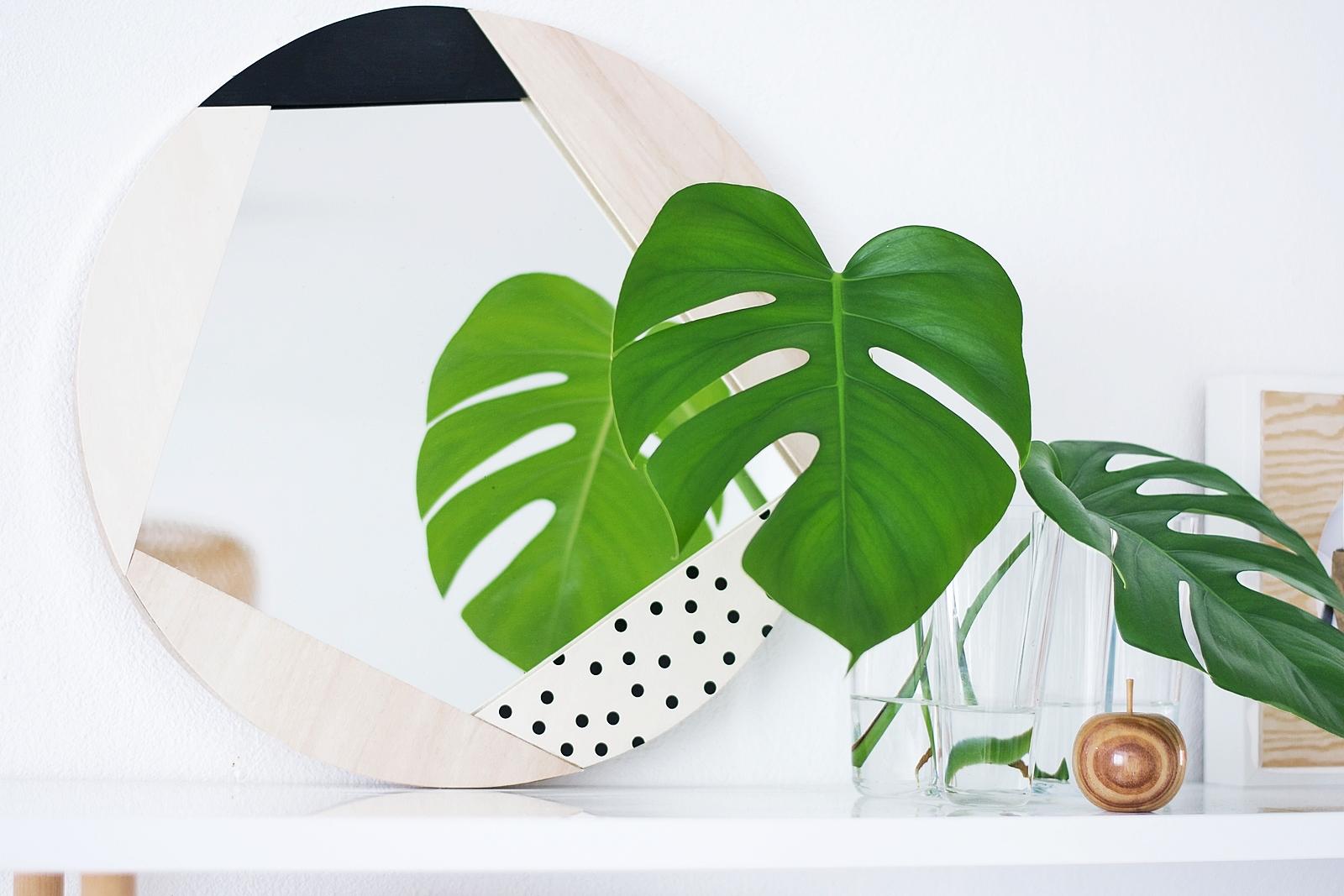 Nachmachtipp DIY Spiegelrahmen aus Holz