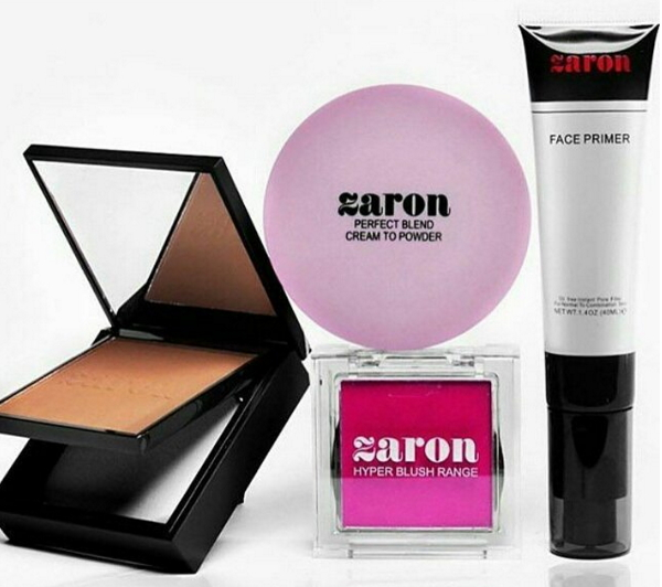 zaron cosmetics new products
