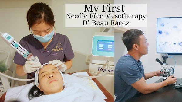 Needle Free Mesotherapy 无针水光疗程 at D' Beau Facez 帝妃时尚医美专家