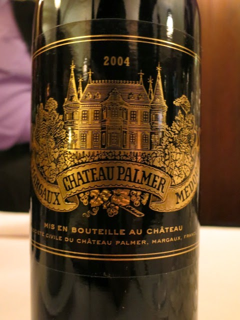Wine Review of 2004 Château Palmer from AC Margaux, Bordeaux, France